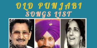 Old Punjabi Songs