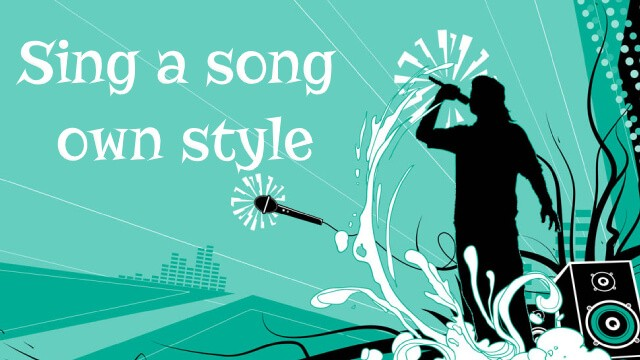 song own style