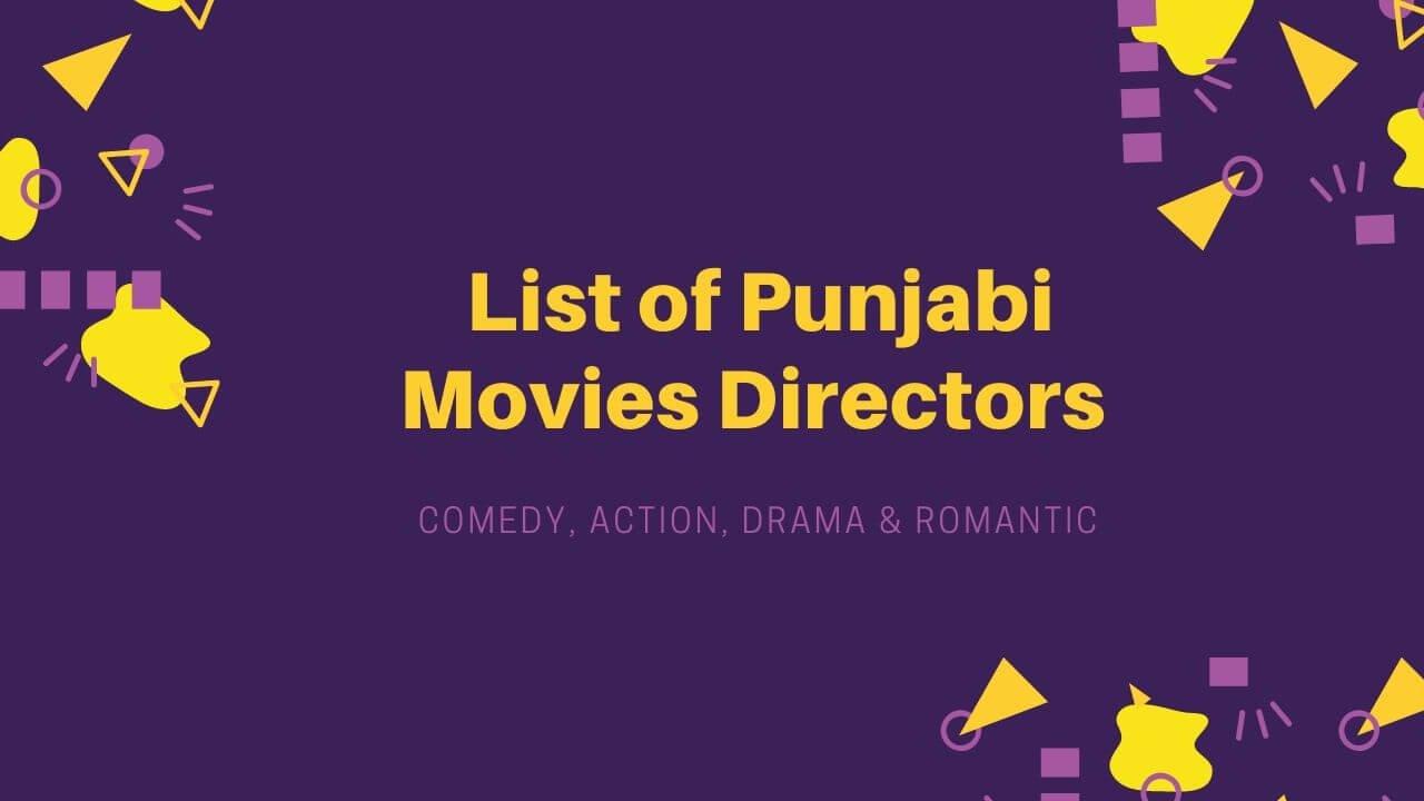 Punjabi Movies Directors