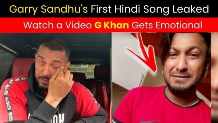 G Khan Gets Emotional