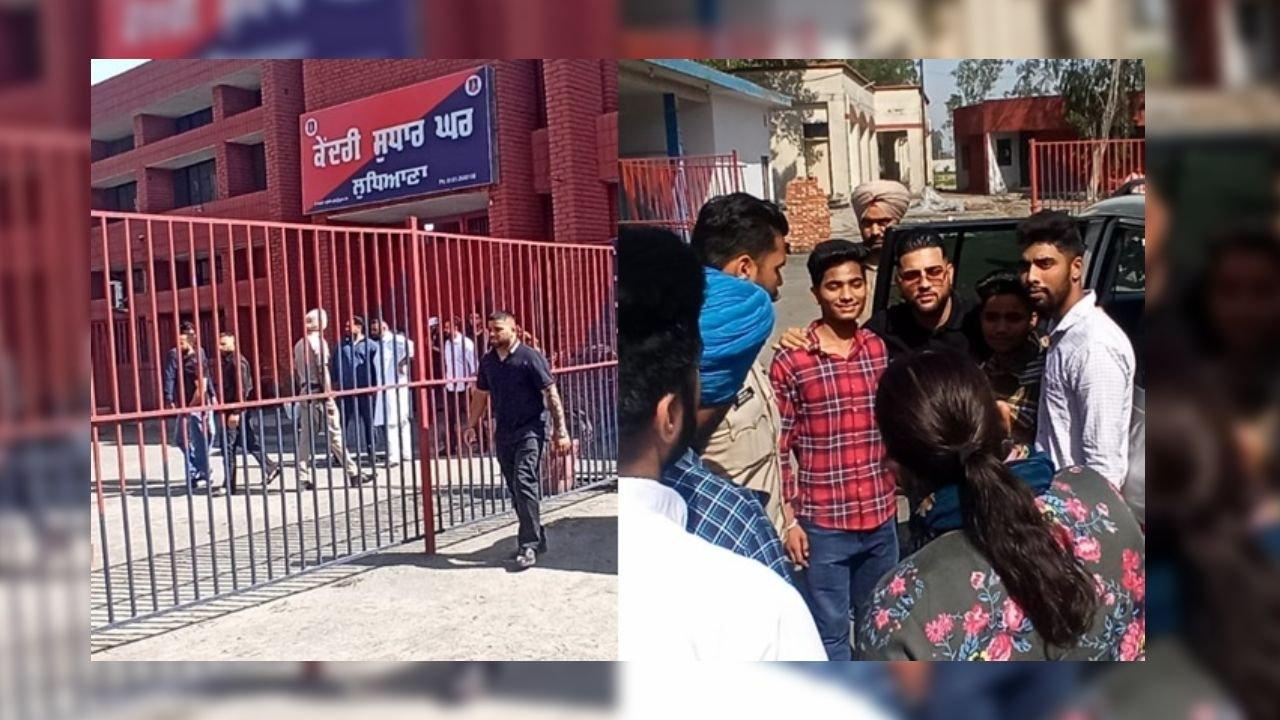 Karan Aujla Reaches Ludhiana Jail, People Spread Rumors